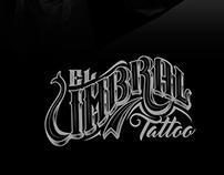 """Diseño de marca """"Umbral tattoo"""""""