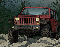 JEEP ad-posters (trilogy)