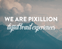 Pixillion - UX & Responsive Website Design