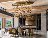 Cheetah Plains Feature Lights - Martin Doller Design