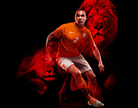 Nike Dutch National Team Kit Retouch