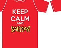 Camisa Keep Calm and Kaliman