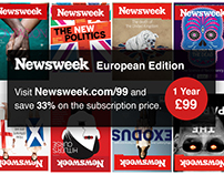 Newsweek - Single-sided postcard