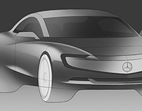 Automotive sketches - 1/14-2016