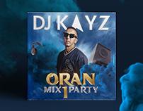 DJ KAYZ - Oran Mix Party - Cover Artwork
