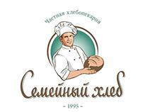 Logotype «Semeiniy khleb». Логотип «Семейный хлеб»