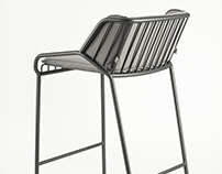 Cage, bar stool