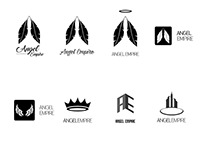 Angel Empire Logo Concepts