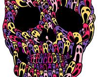 Skull No.14 Ghosties