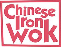Chinese Iron Wok Logo & Menu