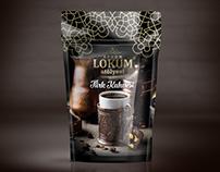 Türk Kahvesi Doypack Ambalaj Tasarımı