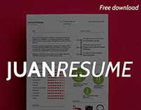 FREE template // Juan Resume