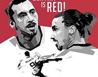ZLATAN IS RED!