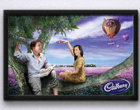 Cadbury Advertising Board