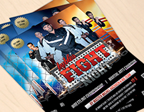 Byblos Fight Night || Flyer & Poster Design