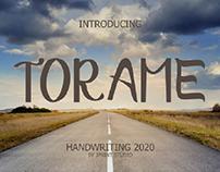 Torame Font Handwriting