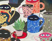 Suspicious mugs