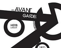 Typographic composition - Avant Garde Gothic