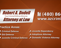 Robert Dodell Attorney - Website Design,Social Graphics