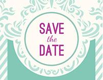 Criação save the date - Casamento