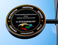 Logo design: Decorative Painting Services