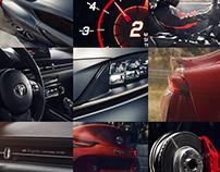 Toyota Supra 2020 Landing Page