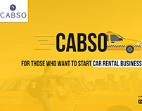 Cabso - For Those Who want to Start Car Rental Business