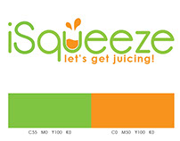 iSqueeze - Branding & Promotional Material