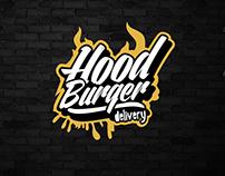 Identidade visual HOOD Burger