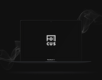 Focus Gallery | Website and Mobile App concept