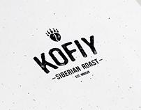 KOFIY Siberian Coffee Roast Branding