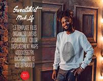 Men's Sweatshirt Mock-Up Vol.3 2017