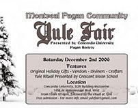 Yule Fair Advertising