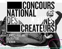CONCOURS NATIONAL DES JEUNES CREATEURS