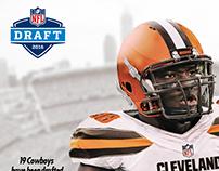 Emmanuel Ogbah jersey swap / NFL Draft 2016