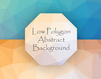 Low Polygon Abstract Background on GraphicRiver