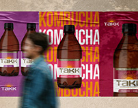 TAKK Kombucha   Brand & Packaging
