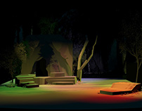 The Tempest Theater Set Design.