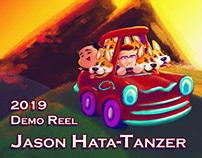 """2019 Demo Reel"" - Jason Hata-Tanzer"