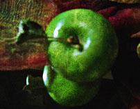 Green apples ...