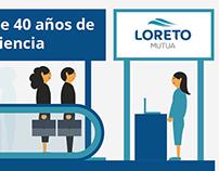 Seguros Loreto Mutua | Peidro Comunicación