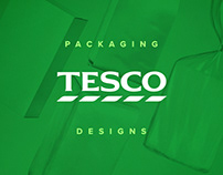 Packaging Designs for TESCO Brand