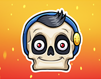 SKELETOHA. VK Stickers — 2018