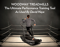 Woodway Treadmills Fight Program Advertisement