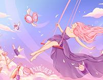 Illustration for Beauty Shop