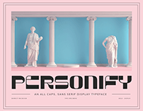 Personify - Display Typeface