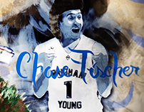 BYU Men's Basketball Promo - Chase Fischer