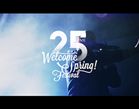 WELCOME SPRING FESTIVAL 2015