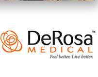 DeRosa Medical Rebrand and Collaterals