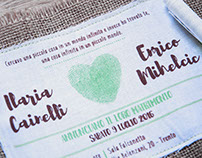 Wedding invitation - Ilaria & Enrico